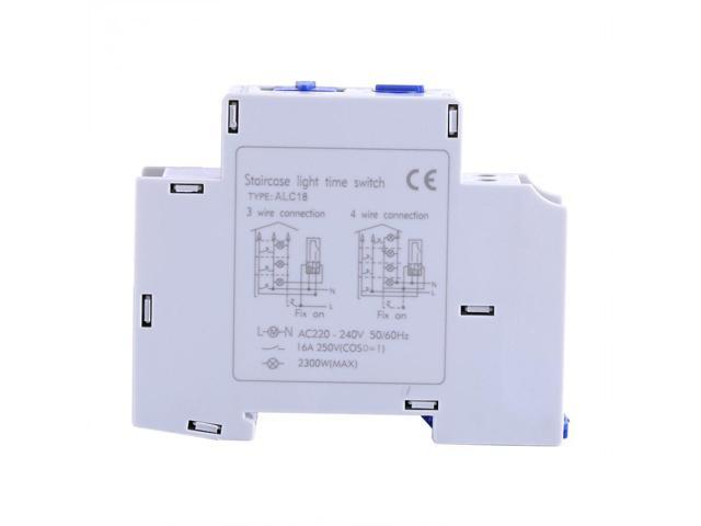 AC 220-240V Mechanical Home Appliance Staircase Electronic Time Relay Timer Switch Corridor Timer 1500W Tool Professional photo