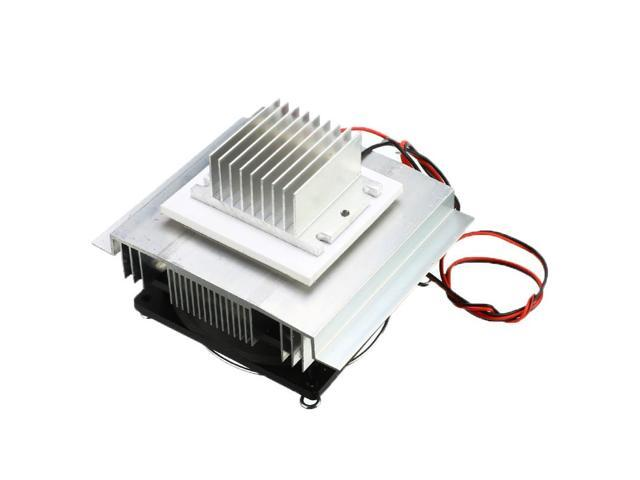 1PC DC 12V Semiconductor Air Conditioner Cooling System DIY Kit Thermoelectric Refrigeration Cooler 40x40x2.6mm photo