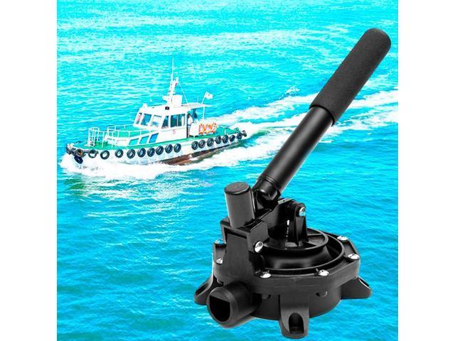 Aluminium Handle Wat 720GPH 29cm x 17.8cm x 12cm Plastic Marine Boat Manual Bilge Hand Diaphragm Pump photo