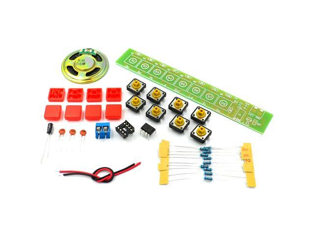 1SET NE555 Component Electronics Electric Piano Organ Module DIY Kit Learn electronic principles, children's lab photo
