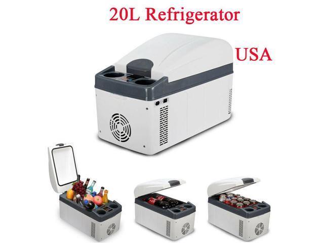 Portable 20L Mini Fridge DC12V/24V Car Refrigerator For Car and 220V For Home photo