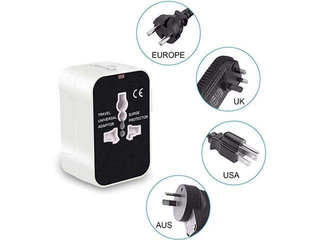 USB Charging Adapter Multifunctional UK Plug Travel Converter Suitable for iPhone iPad Samsung Bluetooth Speaker photo