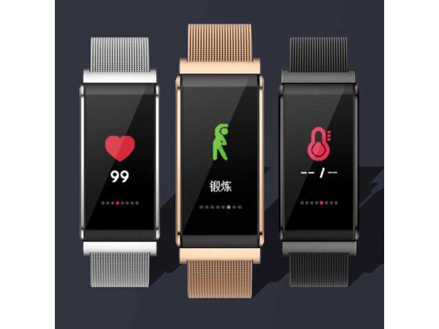 B15 Smart Bracelet Sports Watch Wear Health Exquisite Craft Heart Rate Transmitter Black Technology Anti-lost Pedometer (Electronics Computers Handheld Devices Pdas) photo