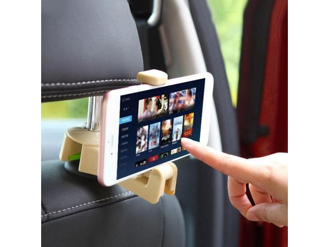 Universal Car Headrest Seat Back Phone Holder Bag Purse Storage Hook Hanger Car Interior Accessories Boutique Wholesale (Electronics Computers Handheld Devices Pdas) photo