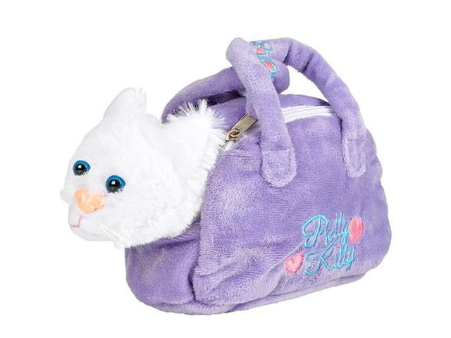 ArtCreativity Plush Kitten in Purse Toy for Kids, Pretend Play Kitty Carrier Toy with Cat Stuffed Animal and Cute Bag, Super-Soft Cat Purse, Best. (921467983296 Baby & Toddler) photo