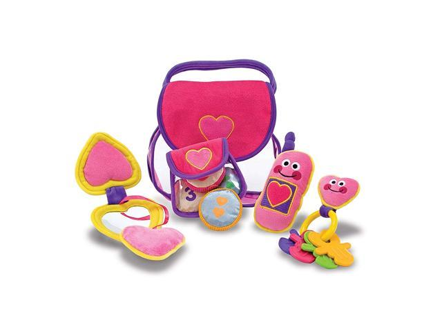 Melissa & Doug Pretty Purse Fill and Spill (921468646312 Toys & Games Toys Pretend Play) photo