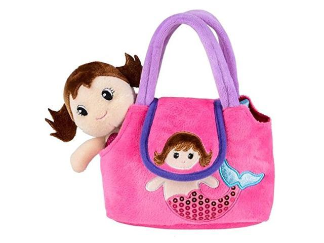 Neliblu My First Doll Purse - Pretend Play Mermaid Adventure Playset for Little Girls - with Handbag and Mermaid Doll (921465738720 Toys & Games Toys) photo