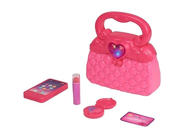 Kid Connection 5 Piece First Purse Play Set Pink with Lights & Sound (for Girls 3 and up) (921468525969 Toys & Games Toys Pretend Play) photo