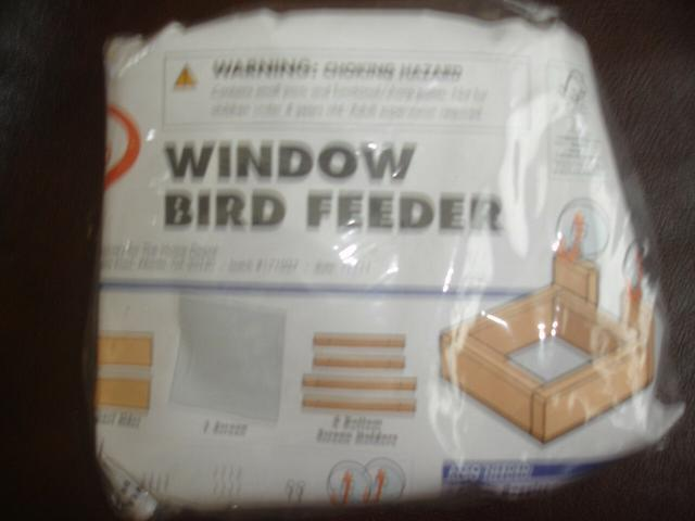 HOME DEPOT KIDS WORKSHOP WINDOW BIRD FEEDER KIT LOWES BUILD & GROW WOOD PROJECT (993343391013 Toys & Games Toys Educational Toys) photo