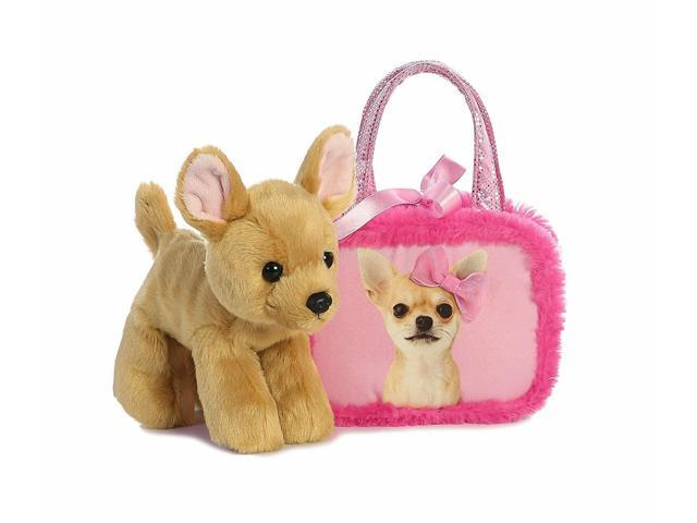 7' Pretty In Pink Pet Carrier Fancy Pal Purse Plush Stuffed Animal (993344196617 Baby & Toddler) photo