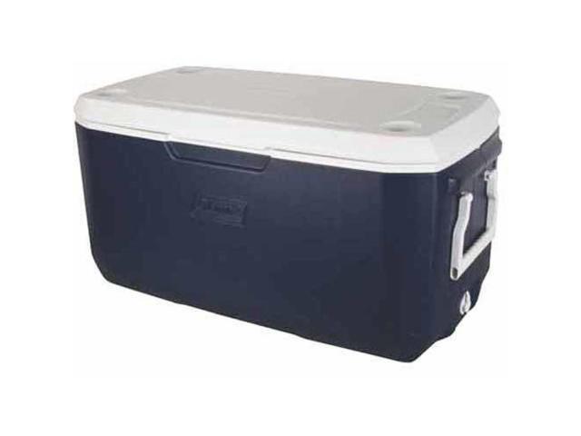 Coleman Xtreme 120 Qt. Camping Cooler Food/Beverages Storage 190-Can Dark Blue