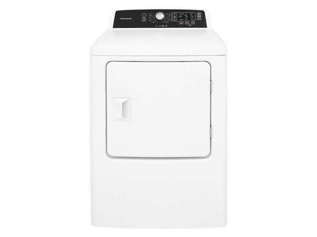FRIGIDAIRE FFRE4120SW Dryer, White, Electric,42-7/8' H photo