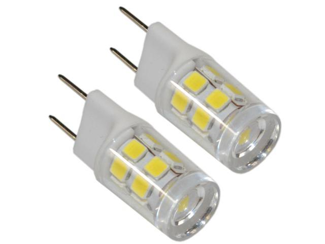 2-Pack G8 Bi-Pin 17 LED Light Bulb SMD 2835 for GE Over the Stove Microwave Oven photo