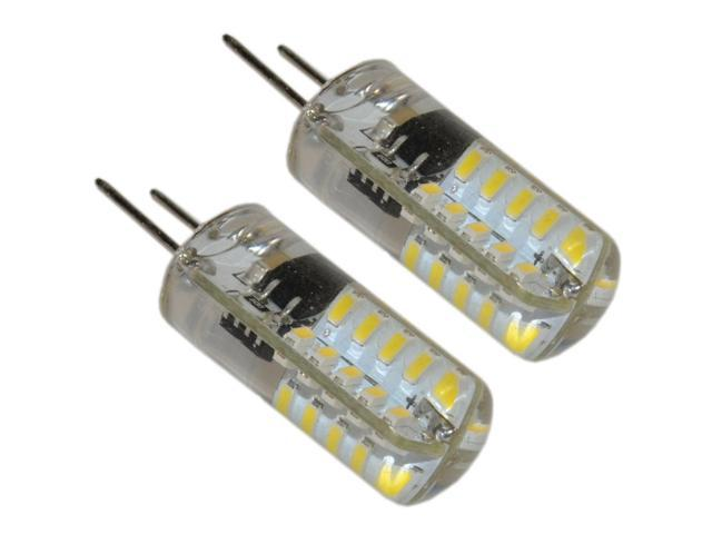 2-Pack G8 Bi-Pin 40 LED Light Bulb SMD 3014 for GE Over the Stove Microwave Oven photo