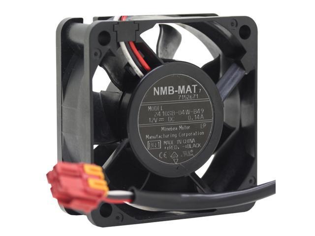 NMB 2410SB-04W-B49 12V 0.14 radiating cooling fan 6025 washer washing machine computer board photo