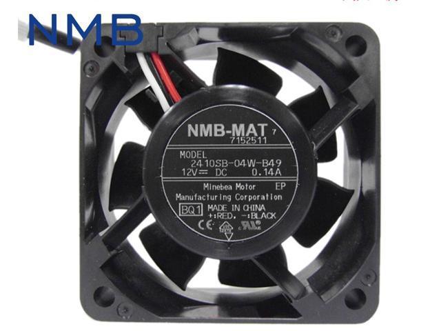 1pcs 2410SB-04W-B49 radiating cooling fan 6025 60*60*25mm washer washing machine computer board 12V 0.14 photo