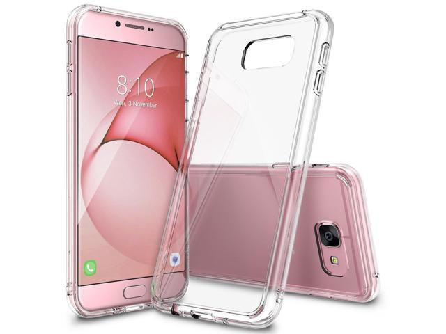 Galaxy A8 Case, Ringke [FUSION] Crystal Clear PC Back TPU Bumper [Drop Protection/Shock Absorption Technology] Raised Bezels Protective Cover For. (Electronics Communications Telephony) photo