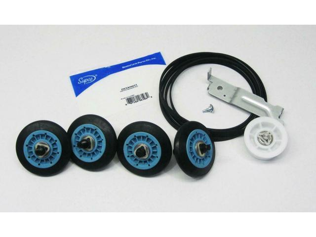 Dryer Repair Maintenace Kit for Belt Idler Pulley Rollers photo