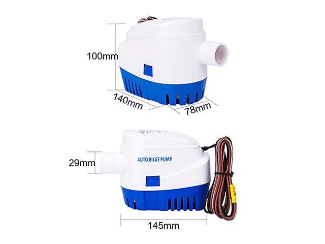 1100GPH 12V Boat Marine Automatic Submersible Bilge Auto Water Pump Float Switch photo
