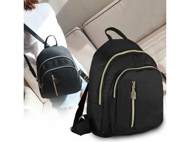Women Mini Backpack Purse Nylon Small Backpack Shoulder Rucksack Girl Bag Travel (Luggage & Bags) photo