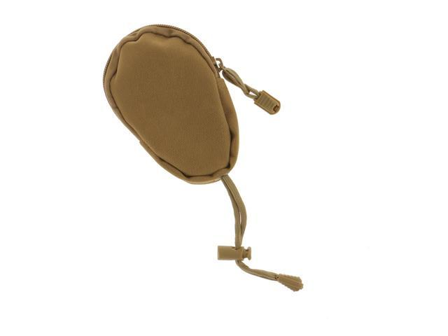 Outdoor Key Bag Pouch Coins Keychain Holder Purse Tan (753128024273 Belts & Suspenders) photo