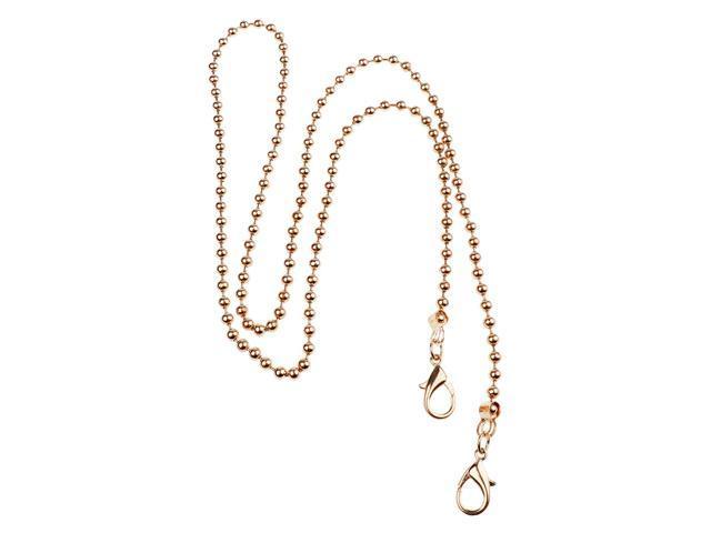 Metal Purse Chain Handbag Shoulder Bag Straps Replacement 120cm Light Gold (745270189177 Belts & Suspenders) photo