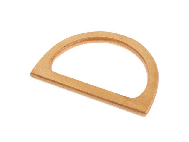 Wood Clutch Handbag Handle Purse Making Bag Making DIY Handcraft Supplies (736232848546 Belts & Suspenders) photo