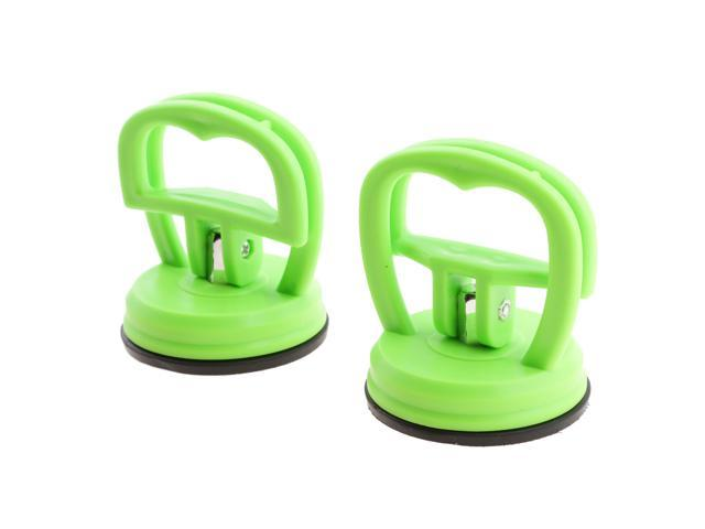 Pair Strong Suction Cup LCD Screen Removal Open for iPhone iPad Green photo