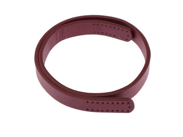 Classic Leather Shoulder Bag Strap Replacement Purse Handles Crafts DIY Wine Red (753128945806 Belts & Suspenders) photo