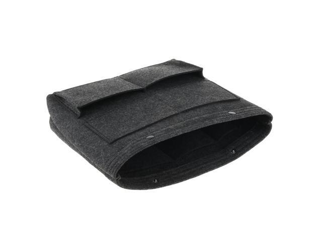 Large Felt Handbag Tote Purse Organizer Insert Liner Multi-Pocket Dark Gray (753128535823 Belts & Suspenders) photo