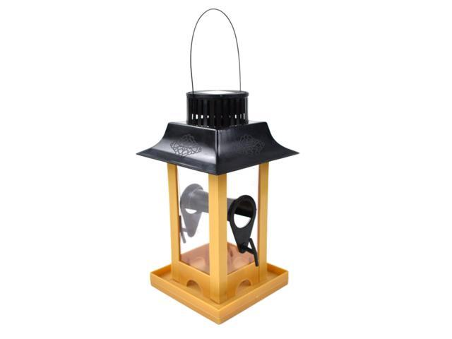 Solar Powered Automatic Bird Feeder Cage Hanging Food Container for Parrot (753244998182 Hardware Tools Saws Table Saws) photo