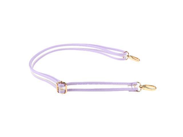 Adjustable Handbag Crossbody Bag Strap Replacement Purse Handle Light Purple (760339656964 Belts & Suspenders) photo