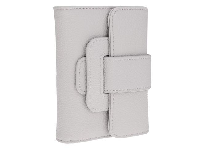 Women Girls Classic Pumping Belt Purse Clutch Trifold Wallet gray (605020812543 Belts & Suspenders) photo