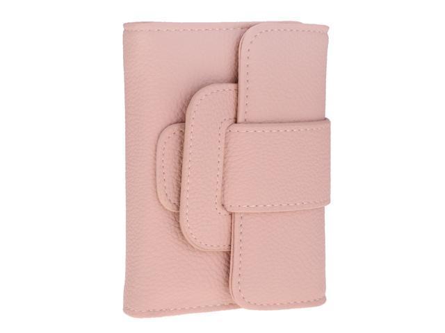 Women Girls Classic Pumping Belt Purse Clutch Trifold Wallet pink (605020812550 Belts & Suspenders) photo