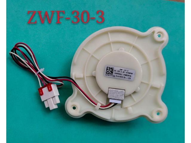 refrigerator cooling fan ZWF-30-3 DC12V 2.5W 1870RPM for BCD-201WEC B15184 .4-5 or else photo