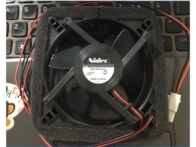 refrigerator cooling fan for U92C12MS1A3-51 9CM 12V 0.16A Cooling fan FOR NIDEC photo