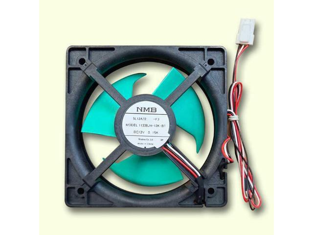 Cooling fan for frost-free refrigerator-freezers for NMB 11338JH-12K-BT DC14V 0.15A Refrigerator waterproof static cooling fan photo