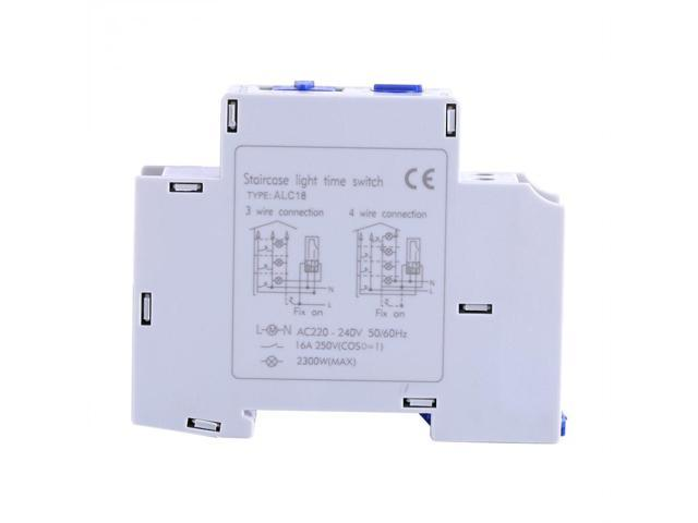 AC 220-240V Mechanical Timer Switch Home Appliance Staircase Electronic Time Relay Switch Controller Timer photo