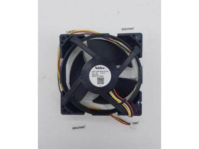 Nidec U92C12MS1BA3-57Z32 9cm DC12V 0.14A refrigerator built-in cooling fan photo