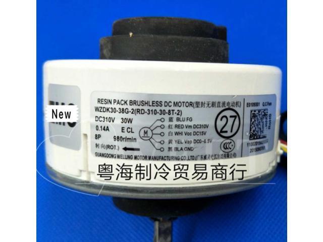 1pcs good working for Inverter air conditioner fan Motor WZDK30-38G-2 Brushless DC motor photo
