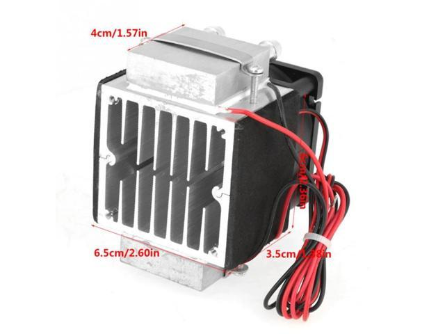 2-Chip 12V 240W Electronic Semiconductor Refrigeration Diy Air Cooling System Water-Cooled Heat Dissipation photo