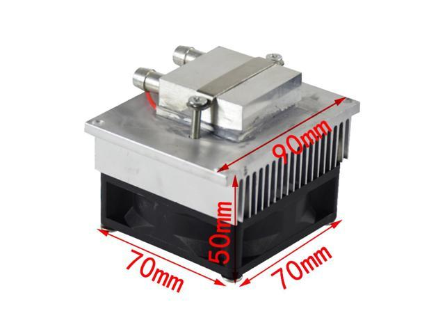 DIY semiconductor refrigeration kit water-cooled air conditioning 12V electronic refrigerator CPU water head photo