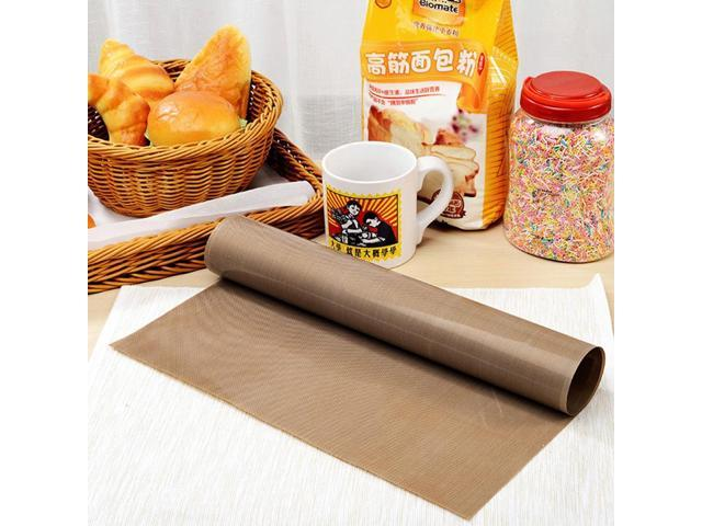 LINSBAYWU 30x40cm Pastry Baking Oilpaper Mat Oilcloth Non-stick High Temperature Resistant Fabric Cloth Baking Oven Oil Paper (Electronics) photo