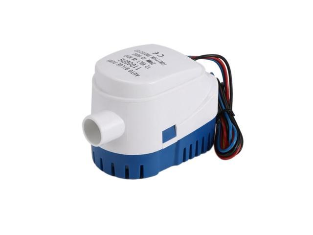 12V Automatic Water Bilge Pump 750Gph For Boat Submersible Auto Pump With Float Switch Marine / Bait Tank / Fish, White photo