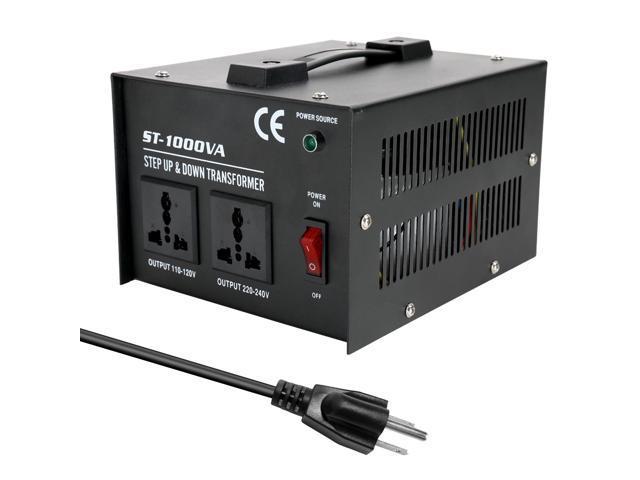 Intelligent Efficient Step Up Down Transformer ST-1000W Home-use 100V-220V Household Electrical Appliance Voltage Converter photo
