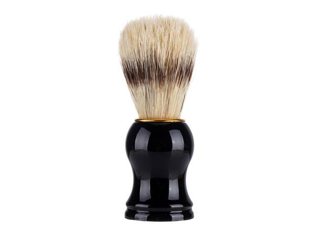 Men's Beard Shaving Brush Barber Salon Men Facial Beard Cleaning Grooming Appliance Shave Tool Razor Brush with ABS Handle photo