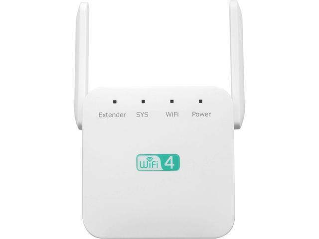 1200Mbps WiFi Extender 2.4 & 5GHz Dual Band WiFi Booster with ...