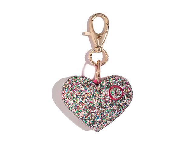 Safety Alarm for Women Ahhlarm Emergency SelfDefense Security Alarm Keychain with LED Light Purse Charm Confetti Glitter Heart (Home & Garden) photo