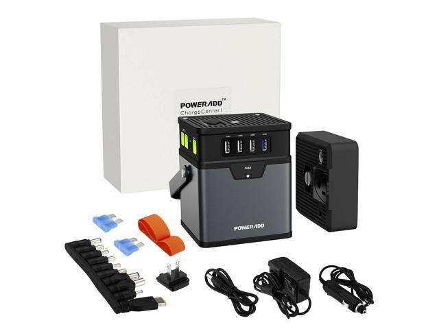 50000mAh AC DC Portable Generator Power Inverter Power Bank for Indoor Outdoor photo
