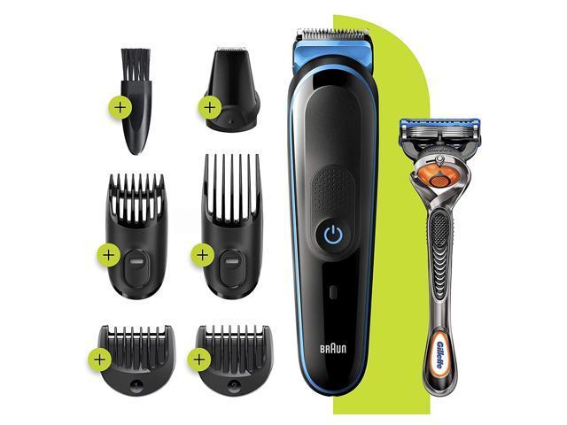 Braun MGK3245 7-in-1 Mens Beard Trimmer and Hair Clipper Kit